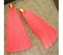 "Серьги-кисти ""Brush Neon Pink"""
