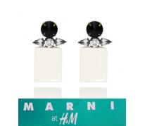 Серьги MARNI at H&M Capsule Collection