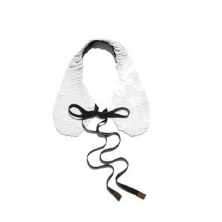 Воротник MARNI at H&M Capsule Collection white