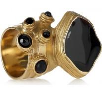Кольцо Coral YSL black